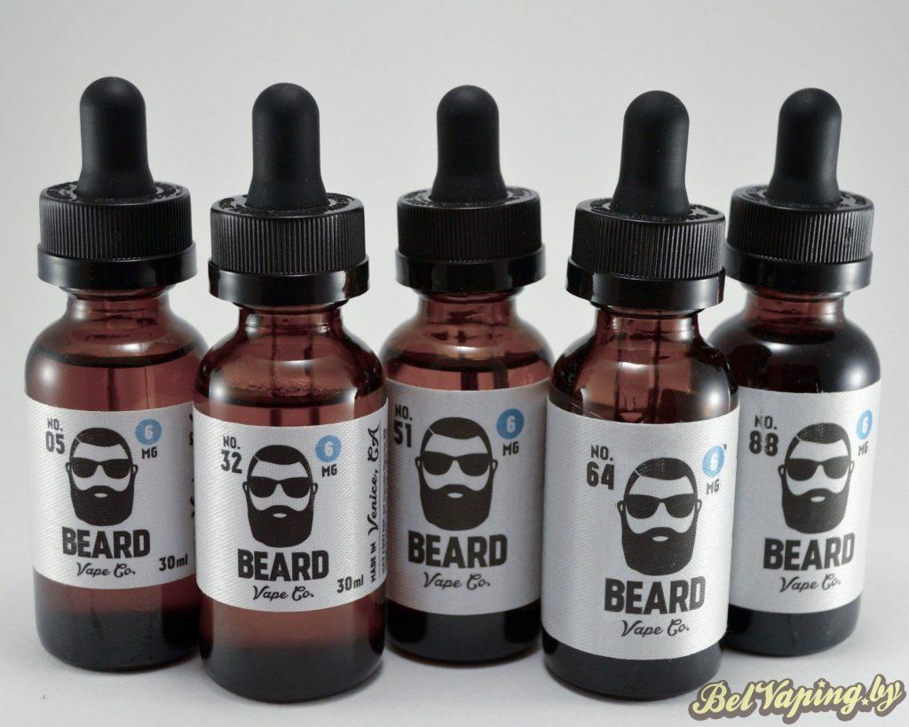 Жидкости для электронных сигарет BEARD Vape Co.