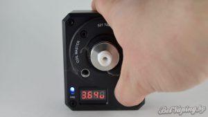 Coilmaster - Coilmaster - вид с атомайзером - прожиг