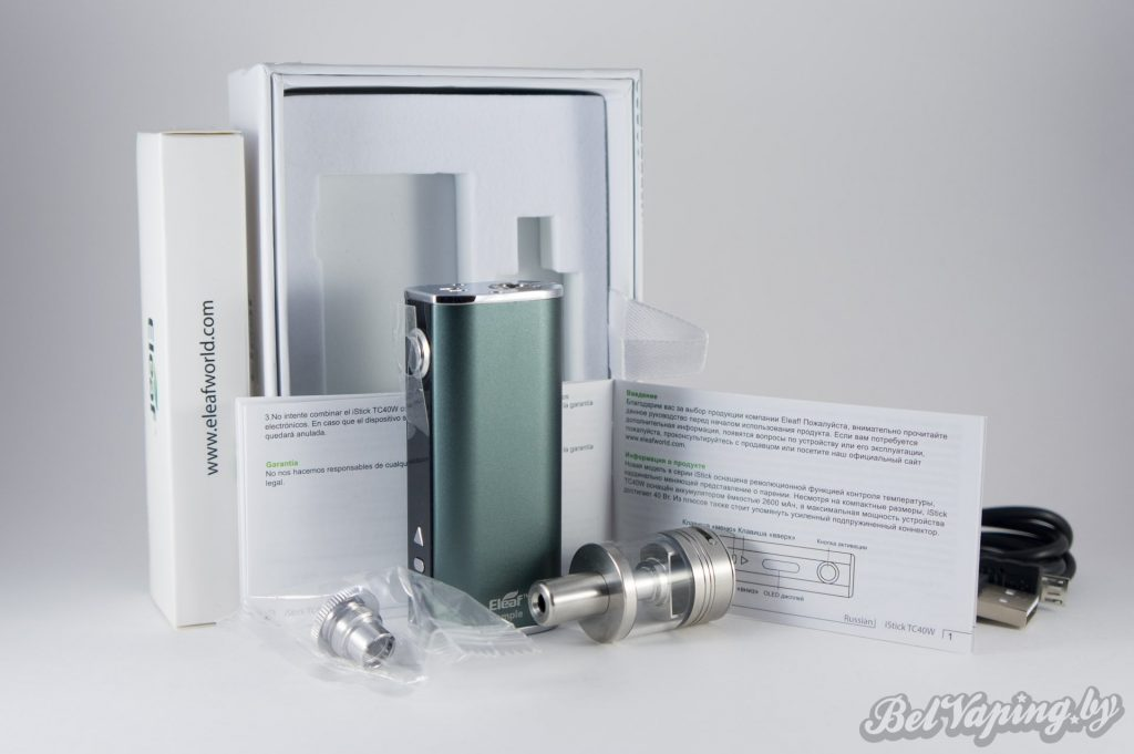 Упаковка Eleaf iStick TC40W