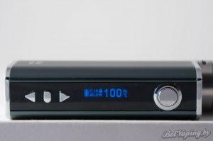 Экран Eleaf iStick TC40W в температурном режиме