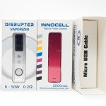 Innokin Disrupter & InnoCell Vaping Power System | Упаковка