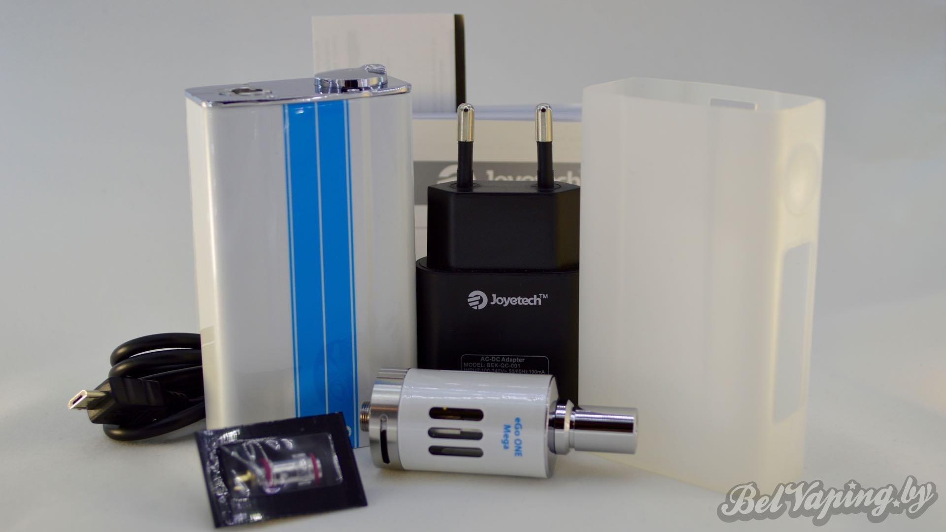 Обзор набора от Joyetech - evic-VT Kit. Комплект поставки.