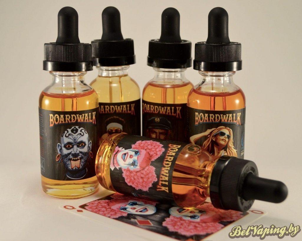 Жидкости для электронных сигарет Boardwalk