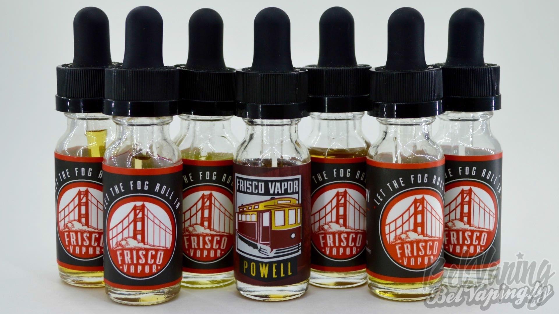Жидкости для электронных сигарет Frisco Vapor