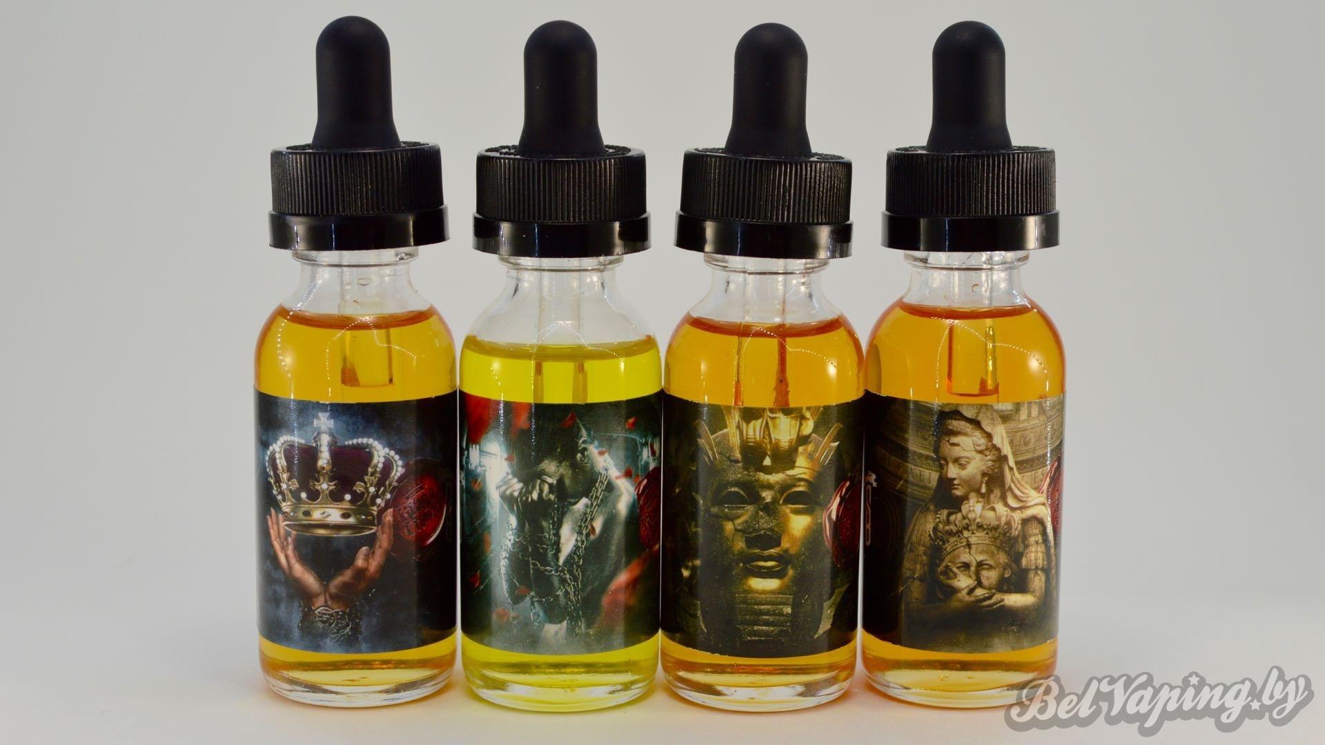 Жидкости для электронных сигарет Suicide Bunny. Линейка King's Crown