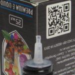 Жидкость для электронный сигарет INTRUE Lab - носик бутылочки
