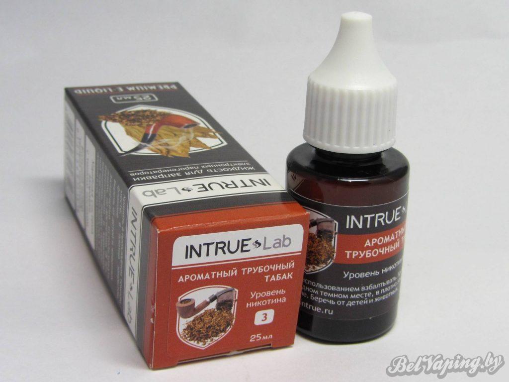 Жидкость для электронный сигарет INTRUE Lab - Ароматный трубочный табак