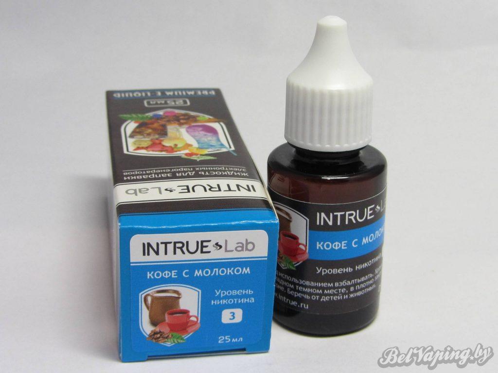 Жидкость для электронный сигарет INTRUE Lab - Кофе с молоком