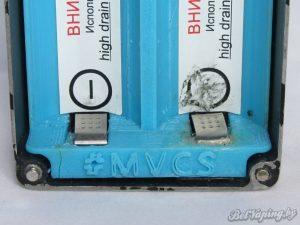 Боксмод от MCVS контакты нижние и проблемная часть