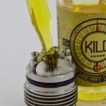 Жидкость для электронных сигарет KILO - Dewberry Cream
