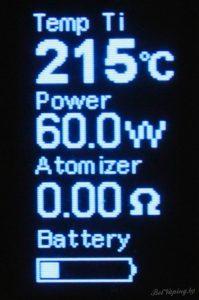 Экран Joyetech eVic-VTC Mini 60W