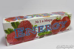 Жидкость Energy. Упаковка, вид сзади