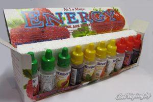 Жидкость Energy. Презентация