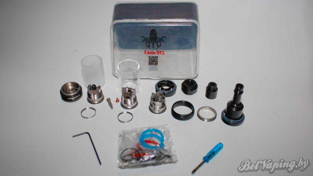 Комплект поставки Сthulhu RTA V2