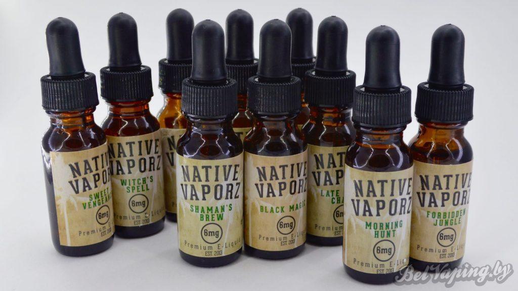 Жидкости для электронных сигарет Native Vaporz