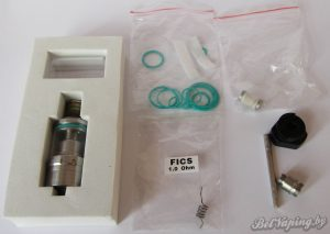 AQUA FX RTA. Комплек запасных частей