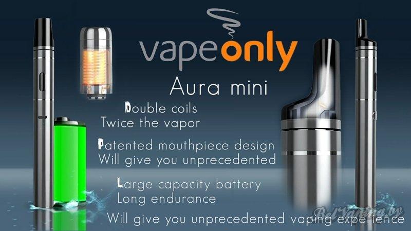 Обзор Aura Mini от VapeOnly