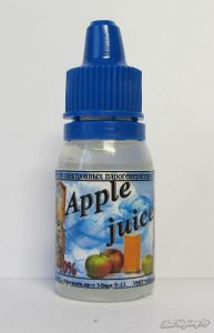 Вадкасці BY E-liquid. Apple juice
