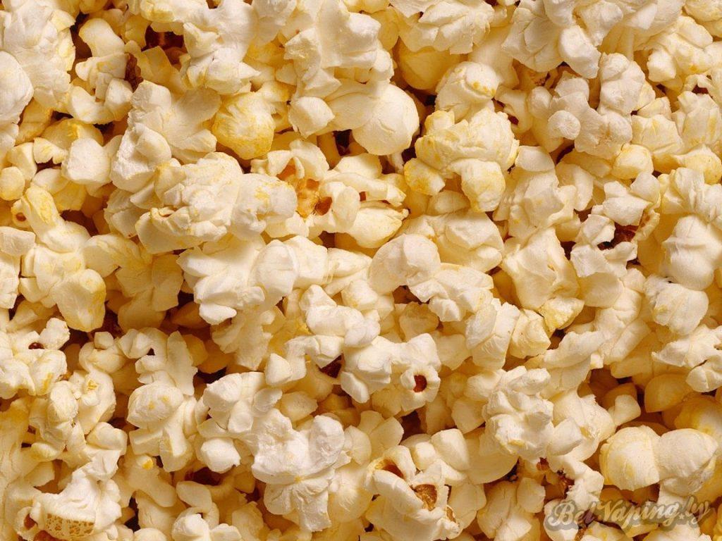 Диацетил используется при производстве попкорна