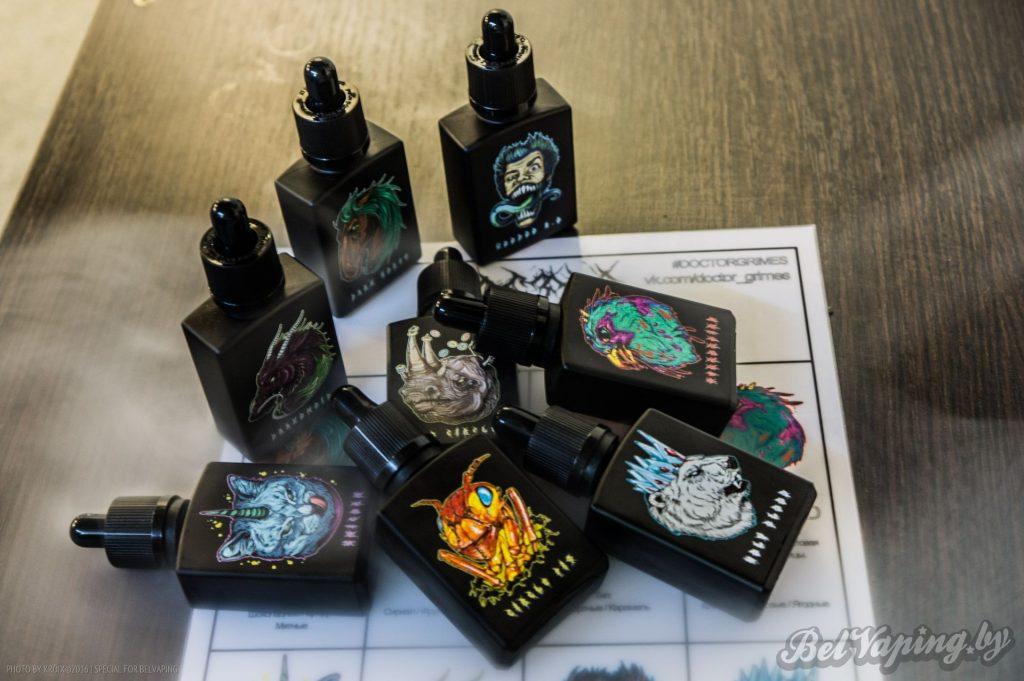 Жидкости для электронных сигарет Doctor Grimes