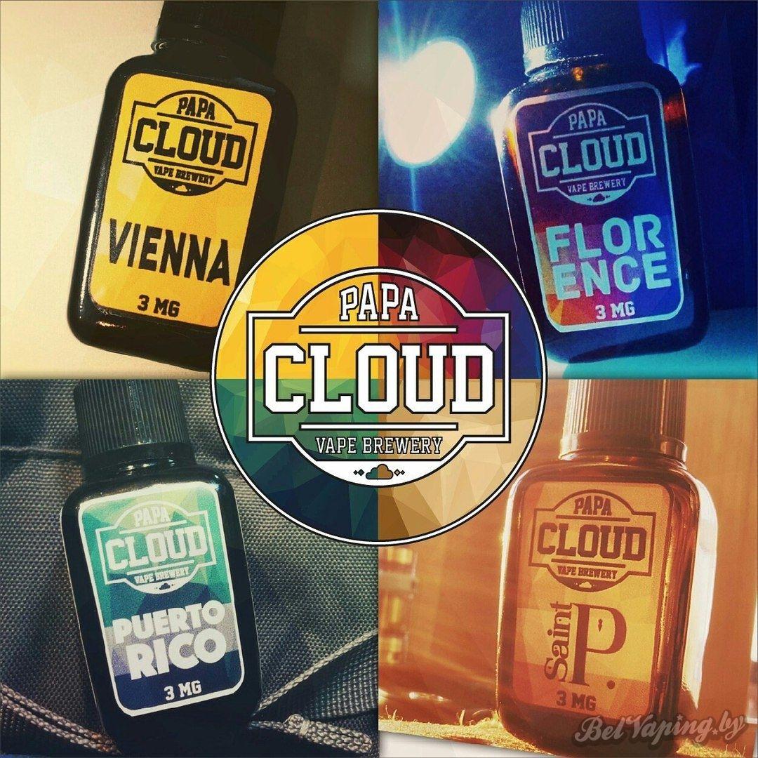 Жидкость Papa Cloud