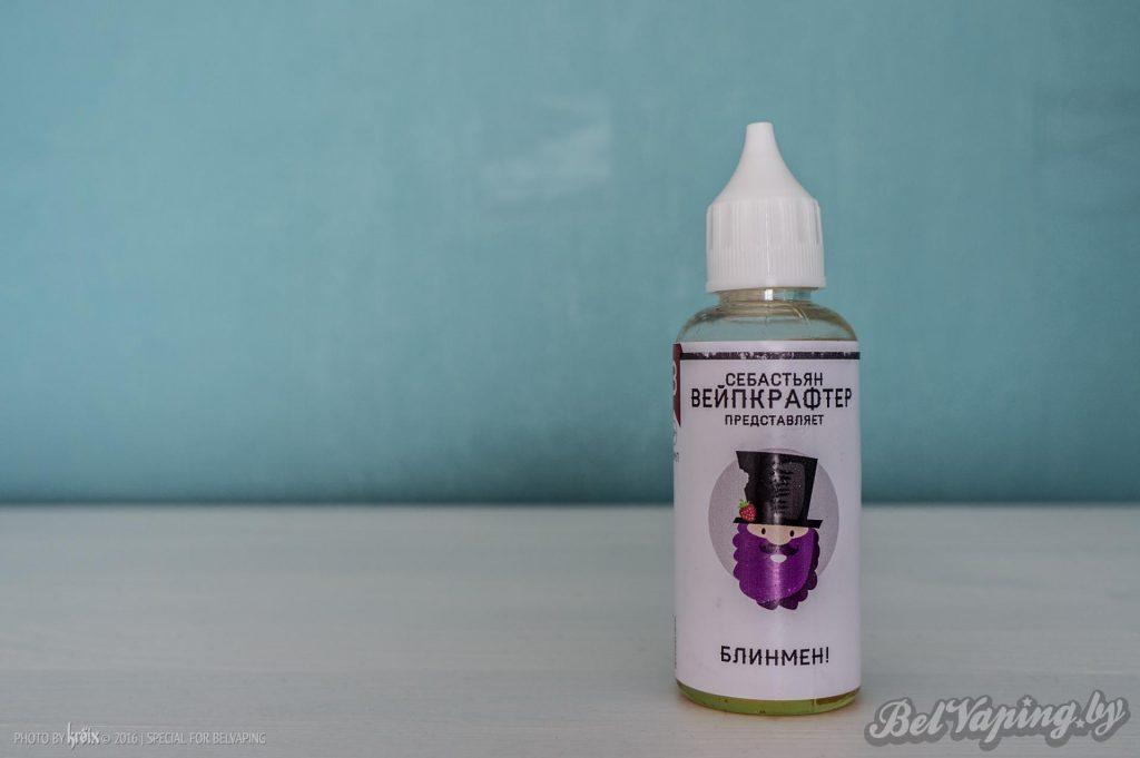 Жидкость VAPECRAFTER - Блинмен!