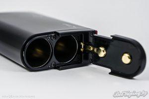 Нижняя часть и крышка аккумуляторного отсека VAPTIO S150