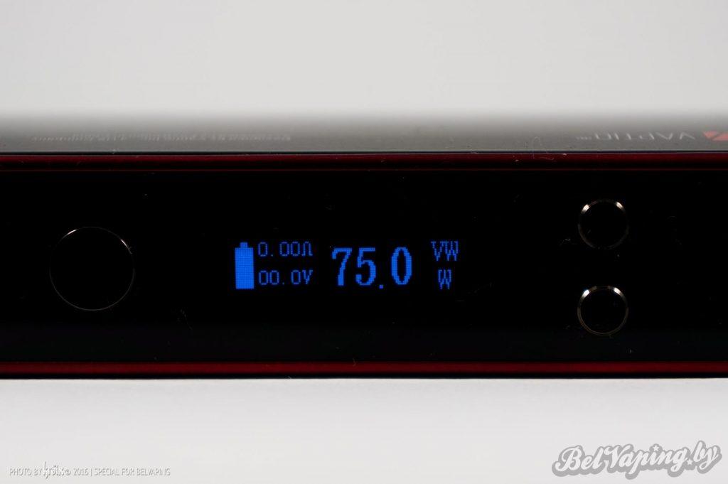 Экран VAPTIO S150 Mod