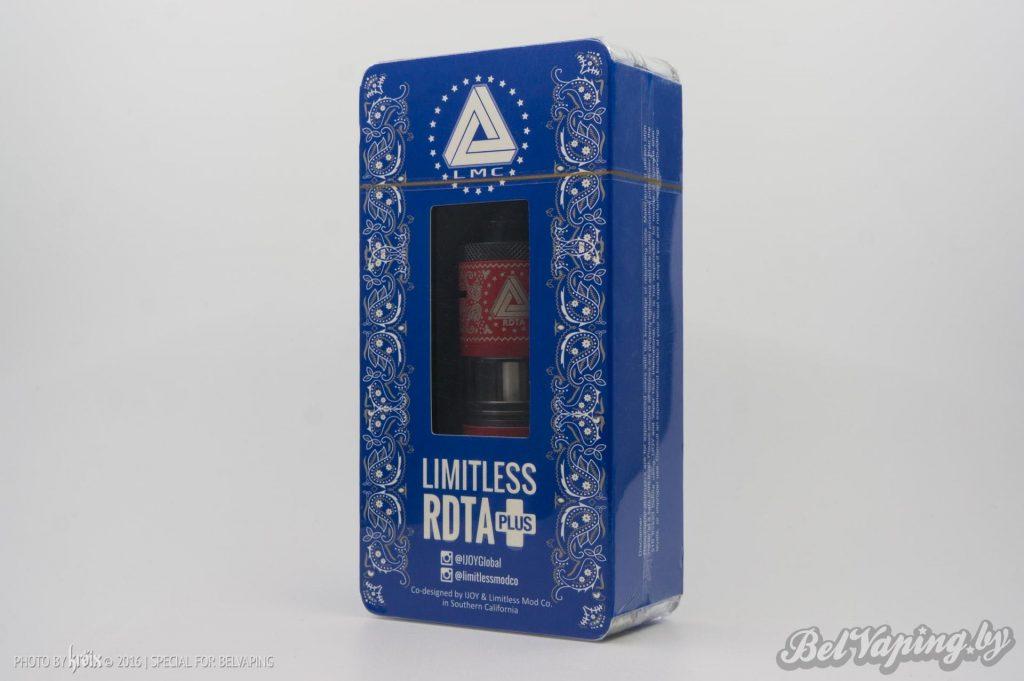 Упаковка iJoy Limitless RDTA Plus