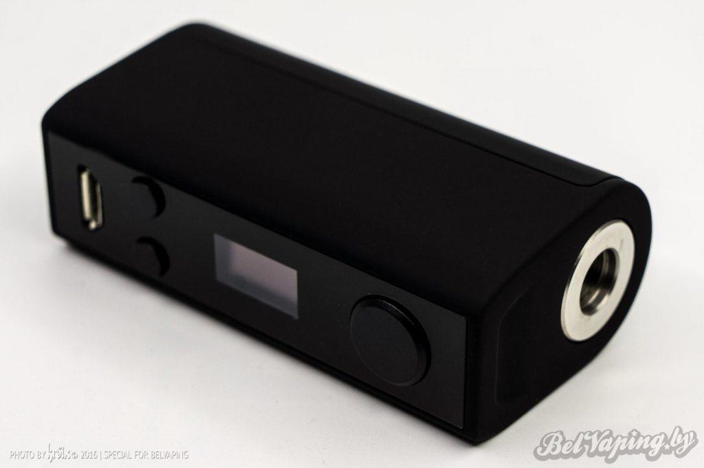 Панель управления и экран MilSpec Mini 40W Box Mod
