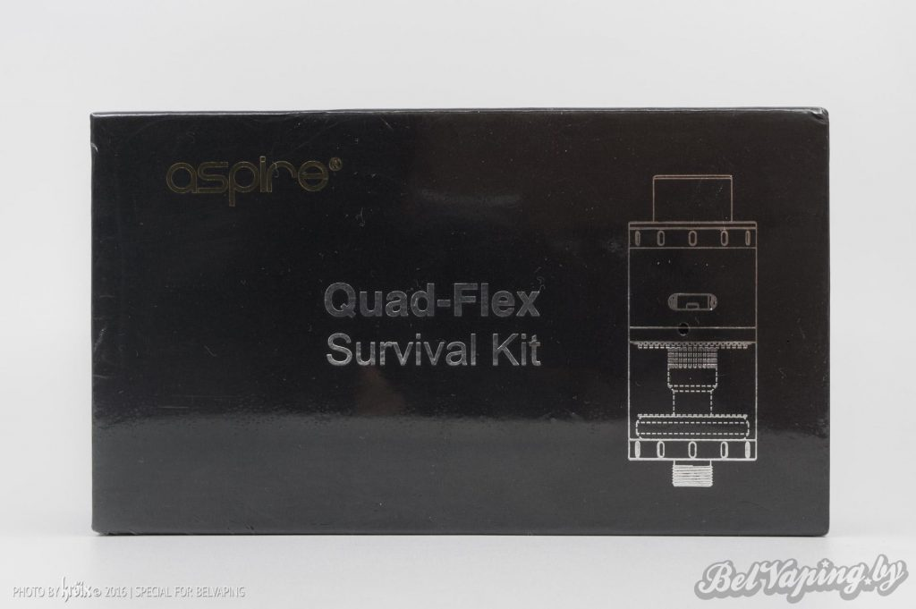Упаковка Aspire Quad-Flex Survival Kit