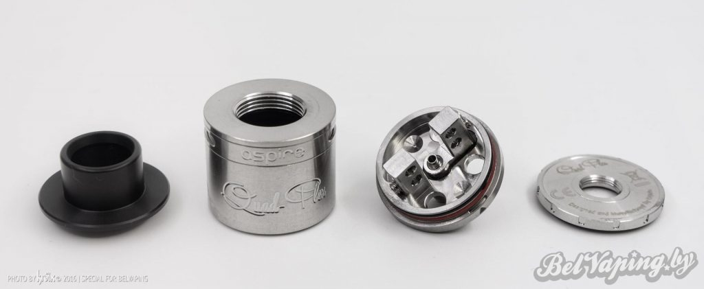 Детали для сбора Aspire Quad-Flex Squonker (Bottom-Feed) RDA