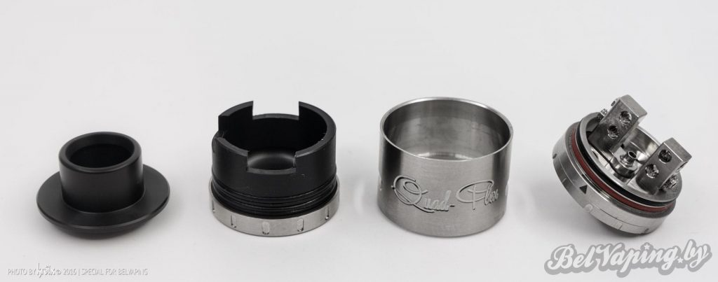 Детали для сбора Aspire Quad-Flex RDA