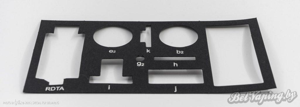 Маркировка деталей Aspire Quad-Flex Survival Kit