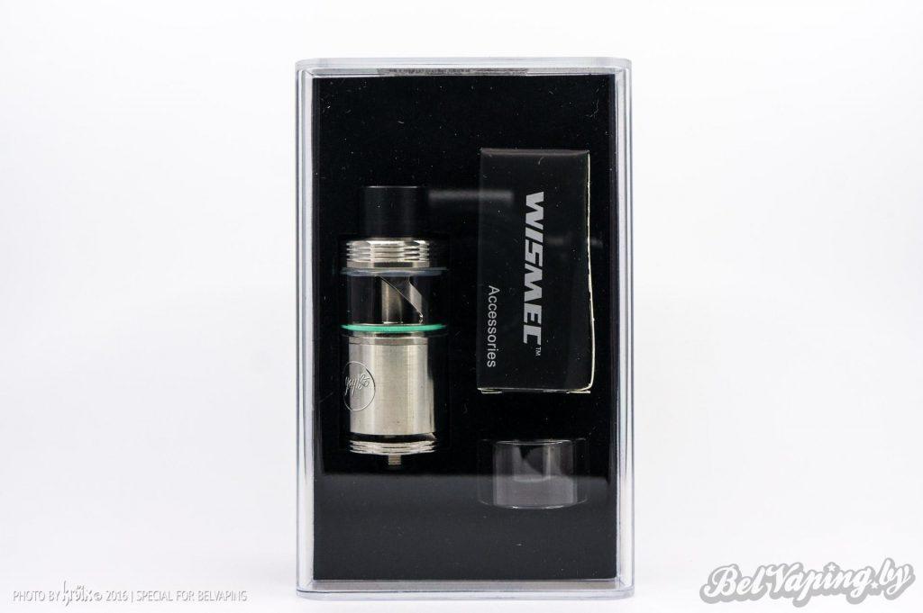 Упаковка Cylin RTA от Wismec