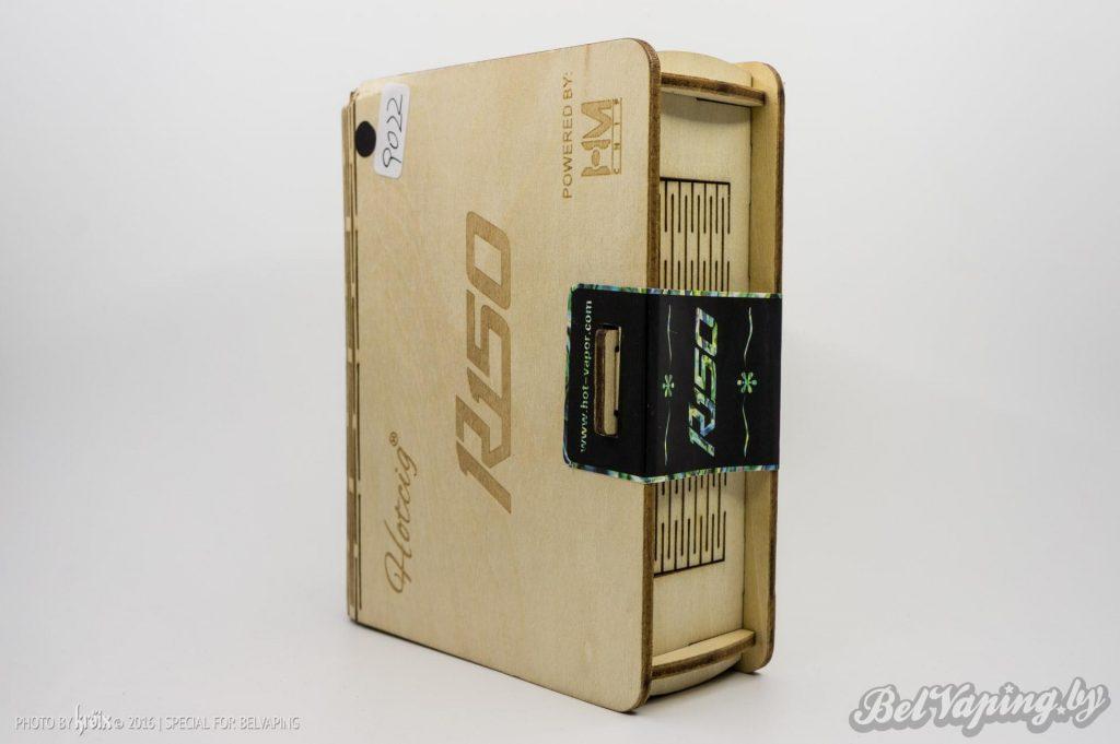 Упаковка Hotcig R150 150W TC Box Mod