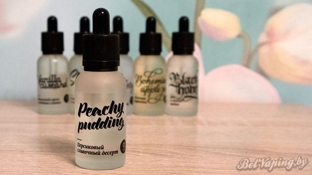 Жидкости Maxwell's - Peachy pudding