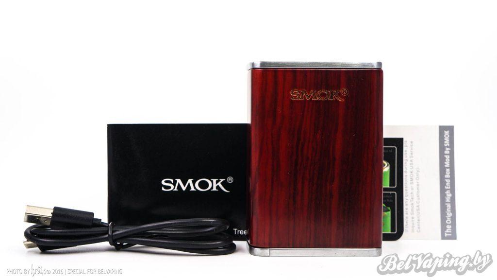 Комплектация SMOK Treebox Plus