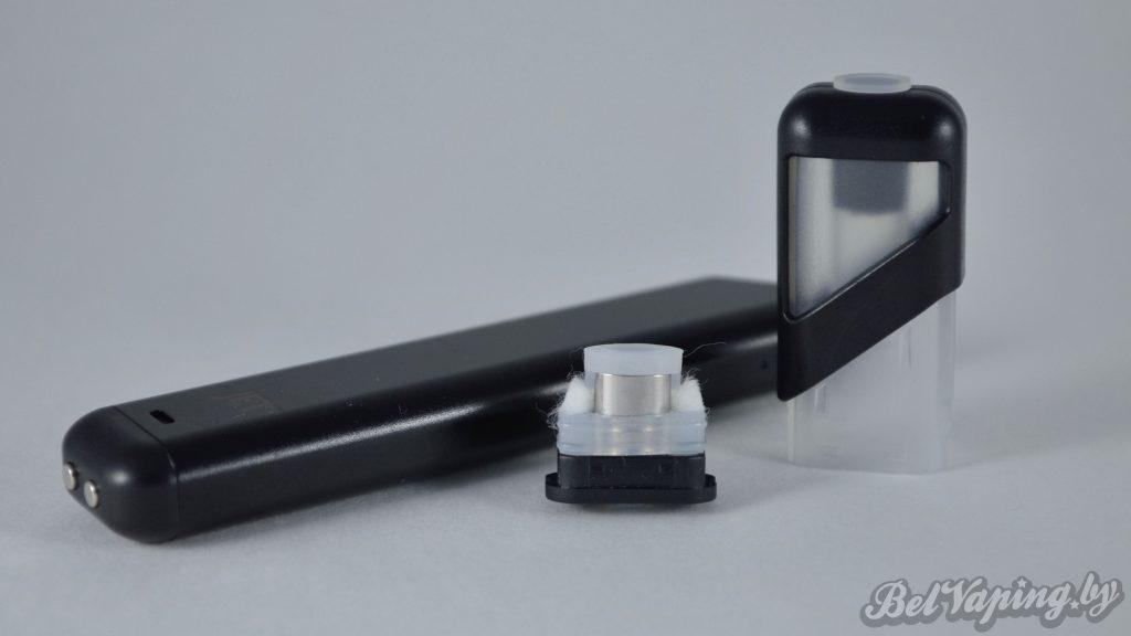 Электронный парогенератор myJET - устройство и сменный картридж