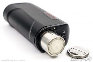 Установка аккумулятора HCigar VT75 Nano