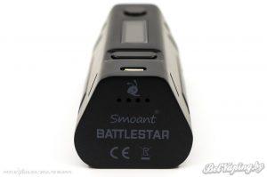 Smoant Battlestar 200W вид снизу