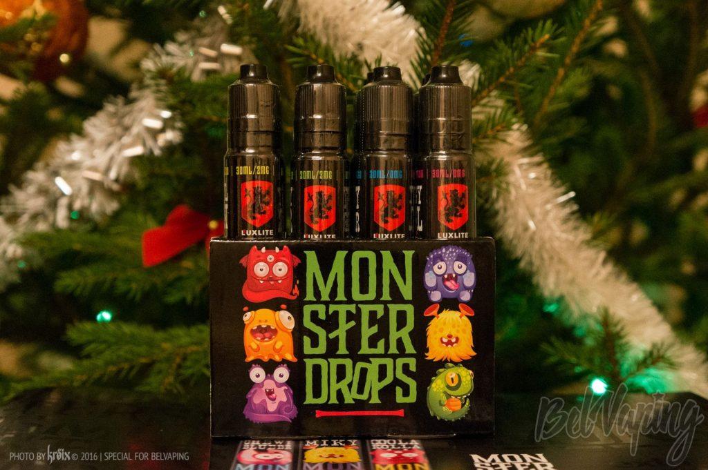 Упаковка жидкости Monster Drops