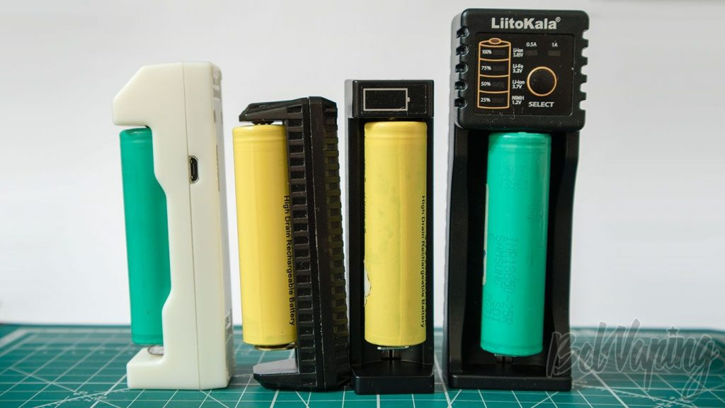 Обзор 4 компактых зарядных устройств