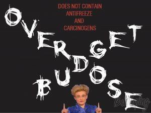 Плакат жидкости Budget Overdose