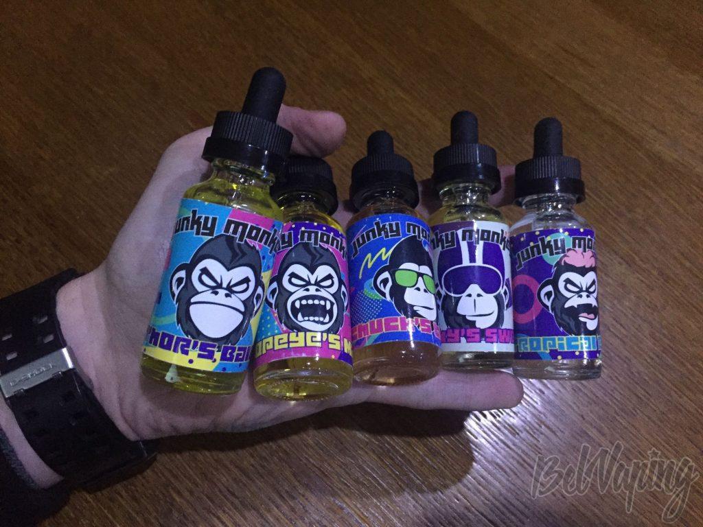Линейка жидкости Junky Monkey