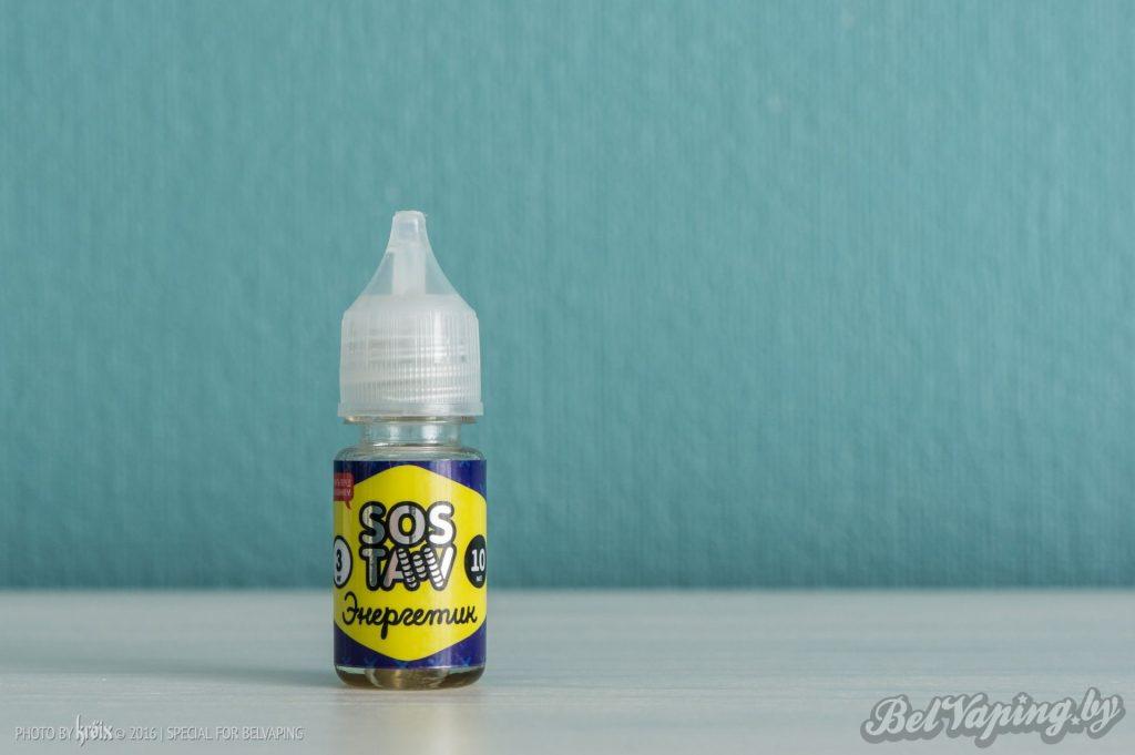 Жидкость для вейпинга SOSTAV - Энергетик