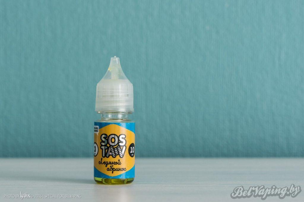 Жидкость для вейпинга SOSTAV - Абрикос