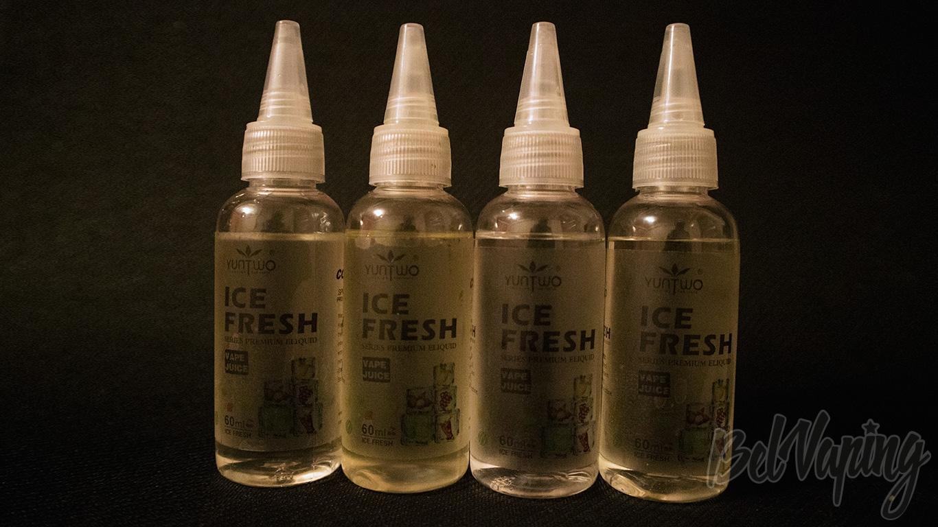 Обзор жидкости для электронных сигарет ICE FRESH