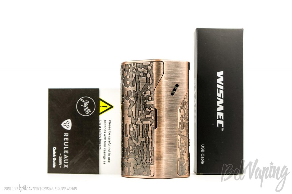 Комплектация Wismec Reuleaux DNA200 Limited Edition