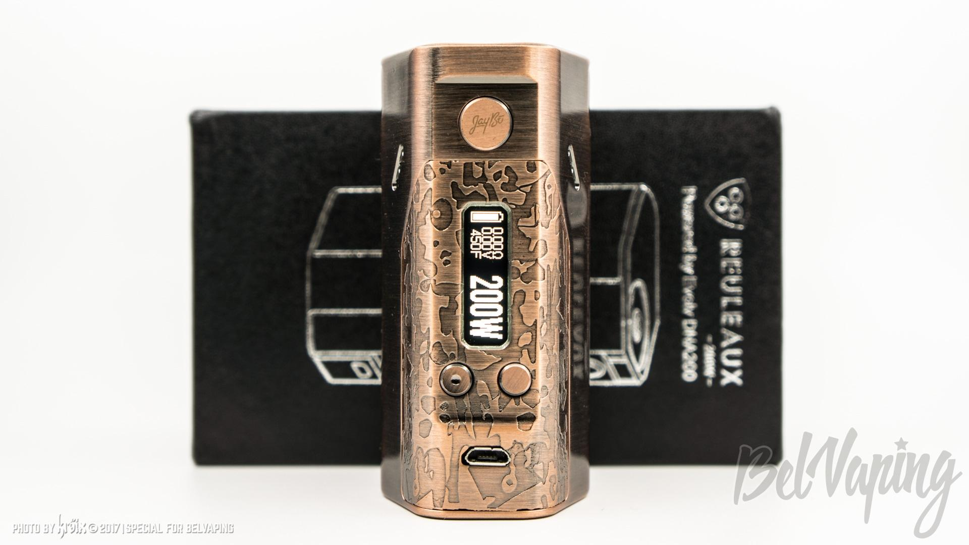 Обзор боксмода Wismec Reuleaux DNA200 Limited Edition